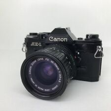 CANON AE-1 Black / FD 35-70mm F3.5-4.5 from Japan