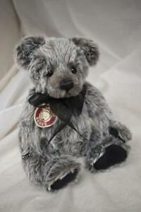 BNWT Charlie Bears Macy Soft Grey Bear
