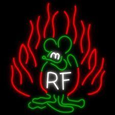 New Rat Fink Game Neon Sign 20''x16''