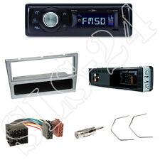 Caliber RMD021 Autoradio + Renault Trafic II Blende chrom + ISO Adapter + Set