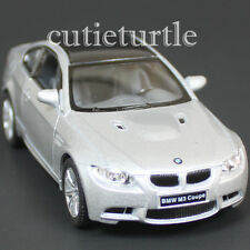 Kinsmart Bmw M3 E92 2 Doors Coupe 1:36 Diecast Toy Car Silver