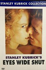 A Stanley Kubrick Film Eyes Wide Shut Dvd Oop Rare Nicole Kidman Tom Cruise