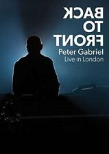 Peter Gabriel - Back To Front - Live In London (DVD) New & Sealed