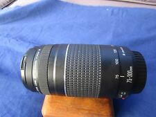 Canon 75-300mm EF Zoom Lens f/4.0-5.6 Auto Focus (mark lll)