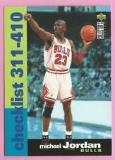 1995-96 Collectors Choice Basketball Card #410 Michael Jordan Chicago Bulls *R3