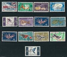 NEW HEBRIDES (BR) 1963-67 definitives complete set (Scott 96-107) VF USED