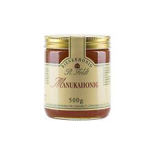 MANUKA Honig SORTENREIN !100% naturreiner Manukahonig Premiumqualität 500g Glas