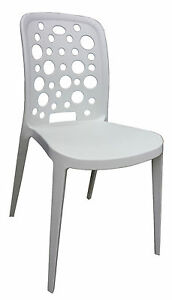 Stylish Cafe Chair - Discontinue colour - White.
