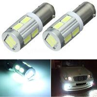 2x BA9S H6W 10 LED Feux Position Ampoule Canbus Erreur Pour BMW 3 Series F30 F31