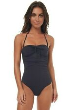 BNWT BILLABONG LADIES SOL SEARCHER ROUCHED ONE PIECE (10) RRP $99.99
