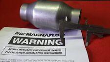 Magnaflow Catalizzatore Sportivo 200 celle metallico 66 mm