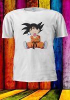 Japanese Anime Manga Dragon Ball Z Super Goku Sleep Men Women Unisex T-shirt 926