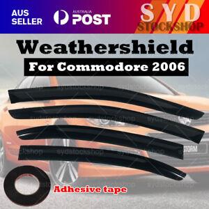 Weathershields Weather shields for Holden Commodore VE VF Sedan Luxury AU