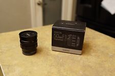 Voigtlander 50mm f1.2 for sony fe