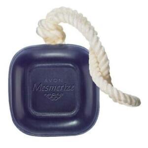 AVON MESMERIZE SOAP-ON-A-ROPE NIB 5 OZ NEW!