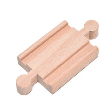 Wooden Train Track Pack Engine Tank Railway Accessories Compatible Xmas Gifts 0h 2# 1 PC