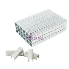 1.2 X 10 X 10.6 Mm 1250 piezas de 10 mm Cuadrado//Flat Staples