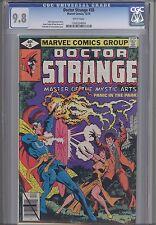 Doctor Strange #38  CGC 9.8  Marvel  1979 Comic: Terry Austin Cover: Price Drop!