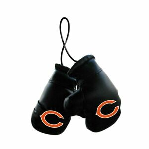 Chicago Bears NFL Mini Boxing Gloves Rearview Mirror Auto Car Truck