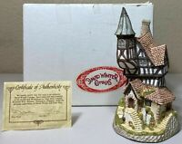 David Winter Cottages - There Was a Crooked House 1986 - ORIGINAL BOX & COA
