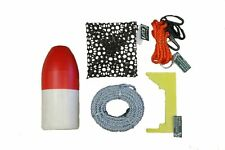 KUFA crabbing accessory kit (100' Lead rope,Clipper,Harness,Bait cage & Float) C
