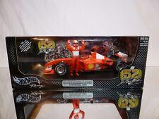 HOT WHEELS 55698 FERRARI F2001 - SPA - SCHUMACHER - F1 1:18 - EXCELLENT IN BOX