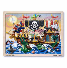 Melissa & Doug 48 piece Fantasy Pirate Adventure Wooden Jigsaw Puzzle