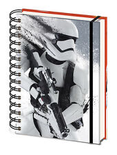 Officially Licensed Star Wars Stormtrooper A5 Notebook Notepad Journal