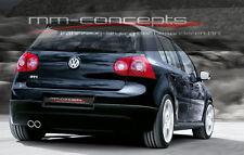 Originale VW Golf 5 V GTI Heckschürze Stoßstange GT TDI Neu