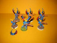 Warhammer 40k - Eldar - Craftworlds - 6x Swooping Hawks inkl. Exarch