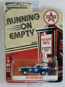 DATSUN 240Z 1970 model race car CALTEX Running On Empty 1:64 Greenlight 41050-E