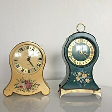 Vintage Jaeger PETITE Neuchateloise Swiss Clock and other clock BOTH WORK