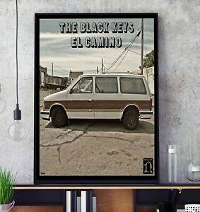 El Camino (by The Black Keys) Album Cover Poster Professional Grade Print