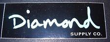 """DIAMOND SUPPLY CO 3.25"""" Logo Skate Sticker BlkBlu Logo skateboards helmets decal"""