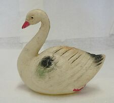 Old Vintage Hand Painted Celluloid Swan