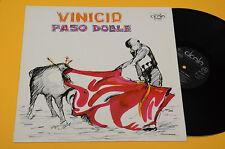 Vinicio LP Paso Doble Rouge Orig Italy 1978 Mint/Unplayed