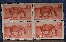 Saar 1949 #B67-68 Semipostal Horses