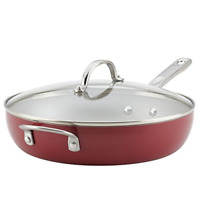 Ayesha Curry 10748 Home Collection Deep Nonstick Frying Pan / Fry Pan / Deep Lid