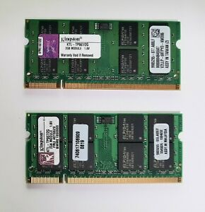 Genuine Kingston 2G RAM Memory 1.8V