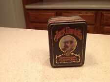 Jack Daniels Tin Empty Gentleman's Playing Cards Old NO 7  Hudson Scott England
