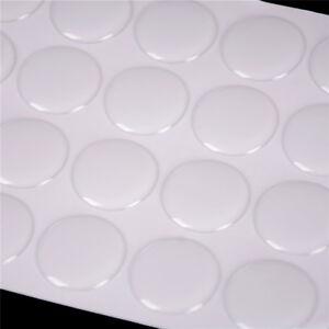 """100Pcs 1 """"Tappi di bottiglia adesivi epossidici trasparenti di cristallo dZZIT"""