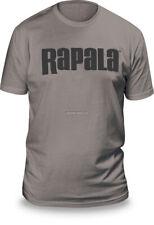 NEW Rapala Fishing Next Level T Shirt Stone Grey / Grey Logo L RNLT9033L