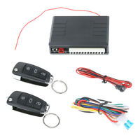 Car Alarm Auto Remote Control Central Locking Door Kit Keyless Entry System C#P5