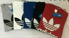 Adidas Men's Original Trefoil Crew Neck Half Sleeve Cotton T Shirt