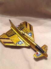 MATTEL 1970 REGAL EAGLE Gold Tone Vintage jet plane