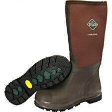 Muck Boots Company Adult Men's/Women's CHORE COOL HI, BROWN, Neoprene Rubber