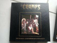 THE CRAMPS Confessions of a psychocat BOX 3EP + insert 11 titres live