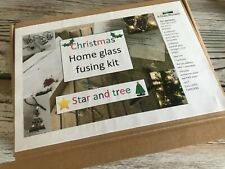 Christmas Decs Home Glass Fusing Kits -  Angel, Tree & Star, Bauble & Icicle