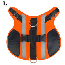 With Handle Outdoor Reflective Vest Flotation Dog Life Jacket Adjustable Summer