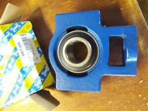 SNR 25mm UCT205 TAKE UP BEARING WITH GRUB SCREW SHAFT LOCKING FREE UK POST